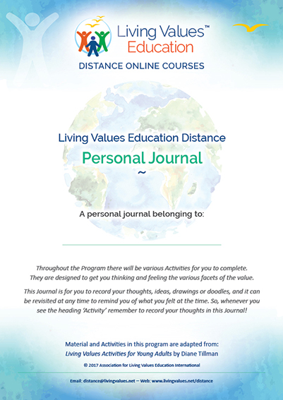 Distance Personal Journal