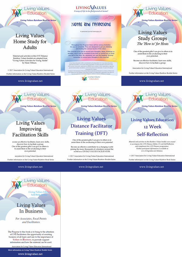 Rainbow Booklets - Self-Help Series