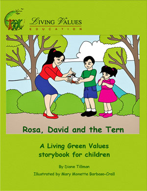 Rosa, David and the Tern - A storybook for three- to seven-year olds