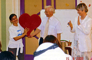 'Love from the Heart' IPE Training June 2008
