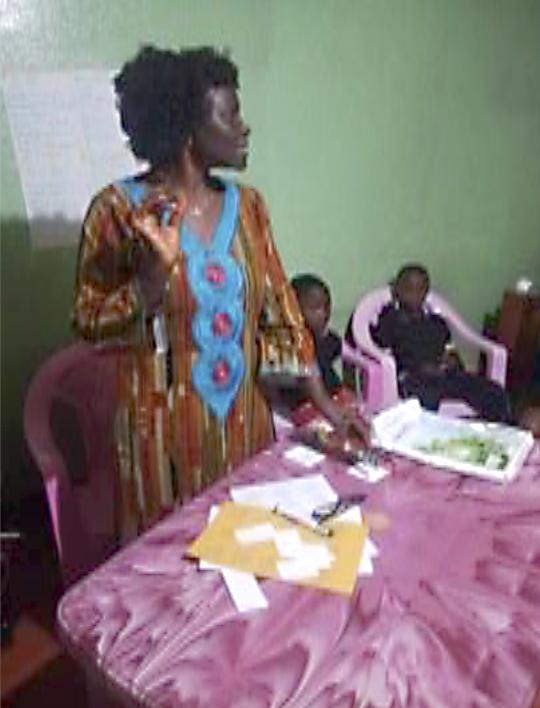 Cameroon workshop group